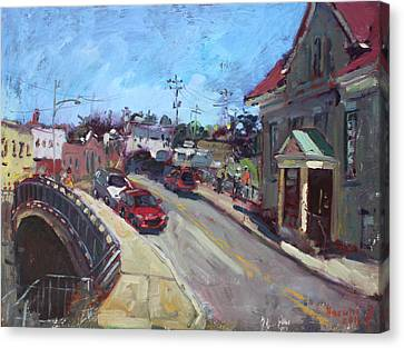 Lockport City Canvas Print