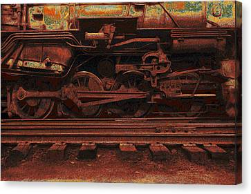 Locomotion 2 Canvas Print by Jack Zulli
