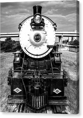 Locomotive 400 Marshall Texas Canvas Print