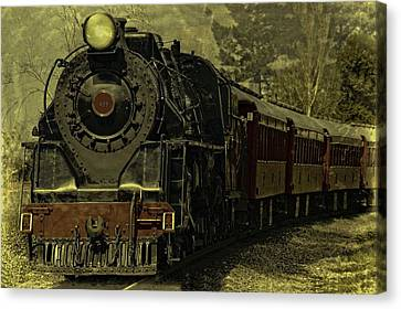 Cabin Wall Canvas Print - Locomotive 499  by Movie Poster Prints