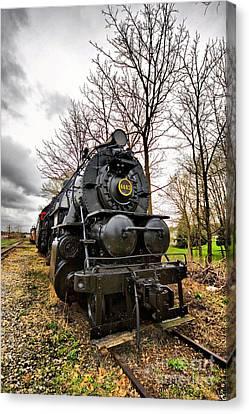 Locomotive  Canvas Print by Mark Baker