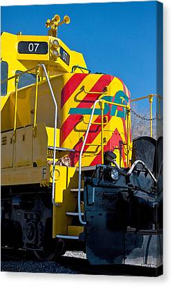 Fast Shipping Canvas Print - Locomotive Number 07 by Art Block Collections