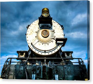 Locomotive Smile  Canvas Print