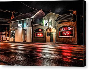 Locust St. Tap Canvas Print by Ray Congrove