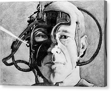 Locutus Canvas Print by Judith Groeger