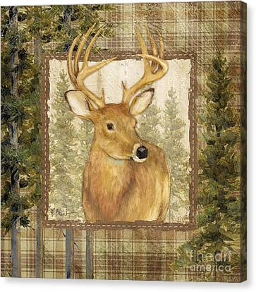 Lodge Portrait I Canvas Print