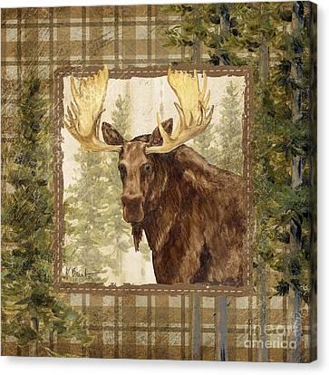 Lodge Portrait Iv Canvas Print by Paul Brent