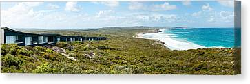 Lodges At The Oceanside, South Ocean Canvas Print by Panoramic Images