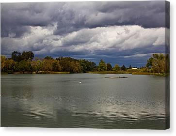 Lodi Lake Canvas Print by Randy Bayne