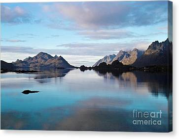 Lofoten Islands Water World Canvas Print by Heiko Koehrer-Wagner