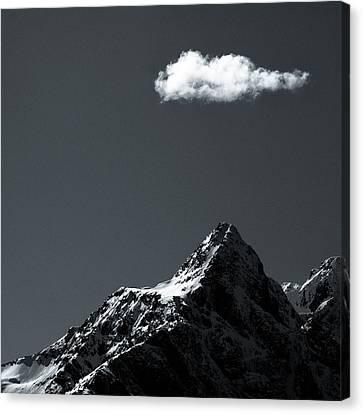 Lofoten Peak Canvas Print by Dave Bowman
