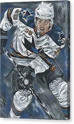 Logan Couture Canvas Print by David Courson