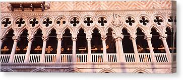 Loggia, Doges Palace, Venice, Italy Canvas Print by Panoramic Images