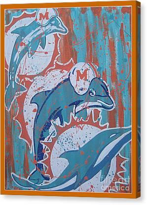 Logo Evolution Canvas Print by Gary Niles