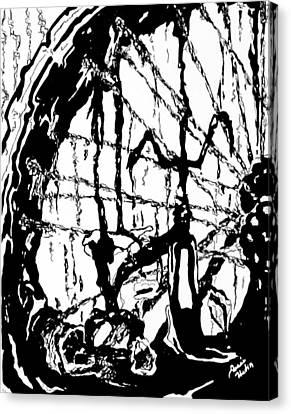 Lointain Canvas Print by Hatin Josee