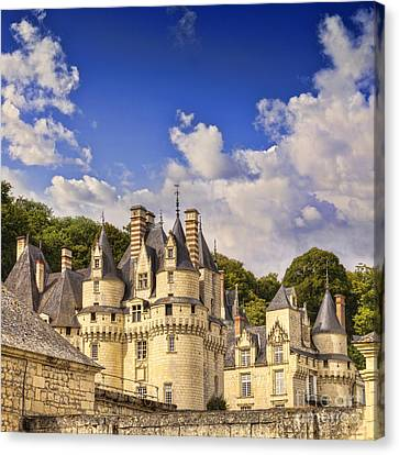 Loire Valley Chateau Usse Canvas Print by Colin and Linda McKie