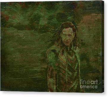 Loki Canvas Print by Alys Caviness-Gober