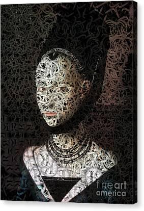 Lola - Creative Portrait Series Canvas Print by Aimelle