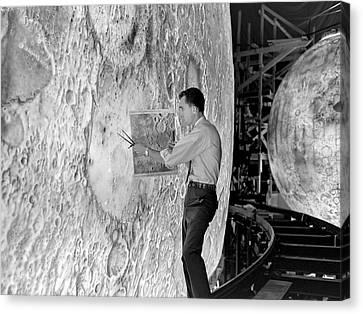Lola Lunar Landing Simulator Canvas Print by Nasa/langley Research Center
