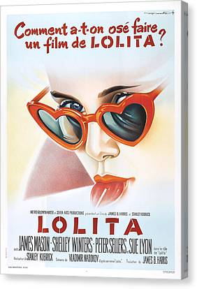 Lolita Poster Canvas Print by Gianfranco Weiss