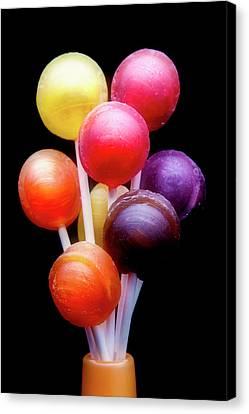 Lollipop Bouquet Canvas Print by Tom Mc Nemar
