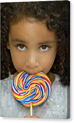 Lollipop Canvas Print by Evelina Kremsdorf