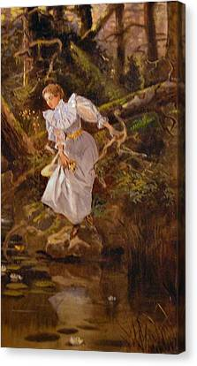 Lolly Canvas Print by Charles Russell