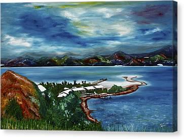 Loloata Island Canvas Print
