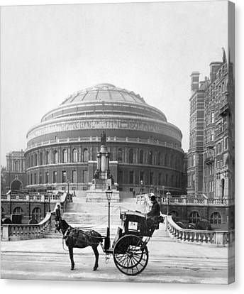 London Albert Hall, C1904 Canvas Print
