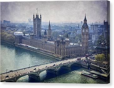 London Canvas Print by Alfio Finocchiaro