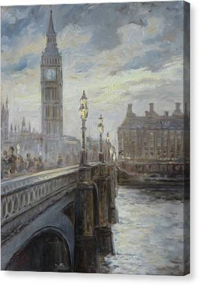 London Big Ben Canvas Print by Irek Szelag