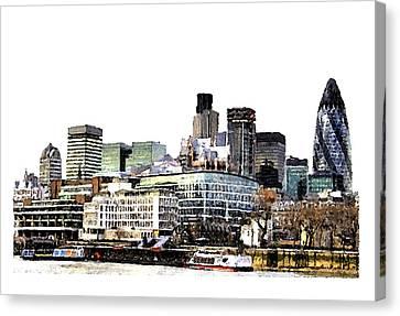 London Canvas Print by Brenda Leedy