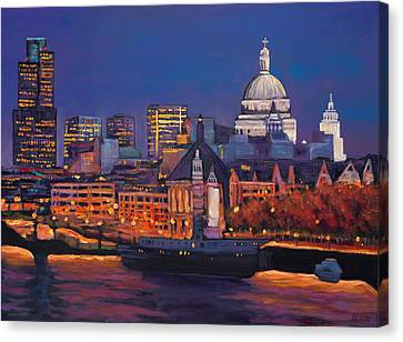 London Calling. Canvas Print by Johnathan Harris