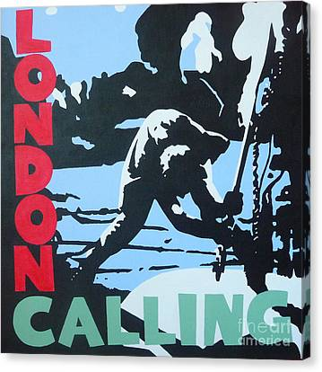 Calling Canvas Print - London Calling by ID Goodall