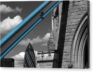 London City Frame Canvas Print