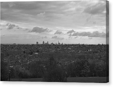 Canvas Print featuring the photograph London City by Maj Seda