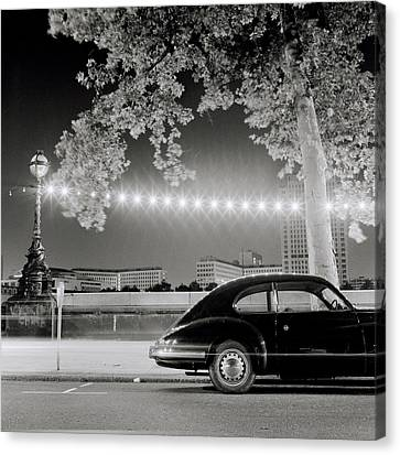 Porsche In London Canvas Print