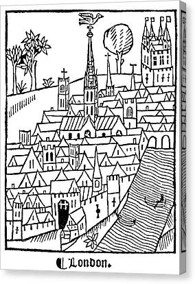 London, England, 1510 Canvas Print