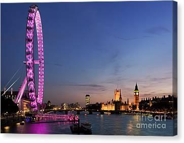 London Eye Canvas Print by Rod McLean