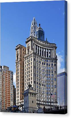 London Guarantee And Accident Building Chicago Canvas Print