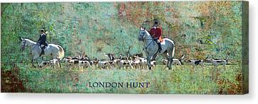 London Hunt Canvas Print by Melanie Prosser