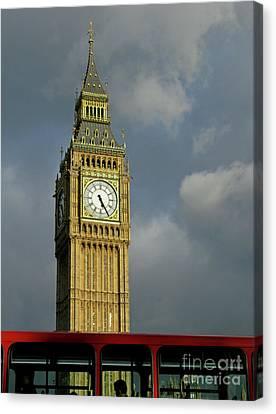 London Icons Canvas Print by Ann Horn