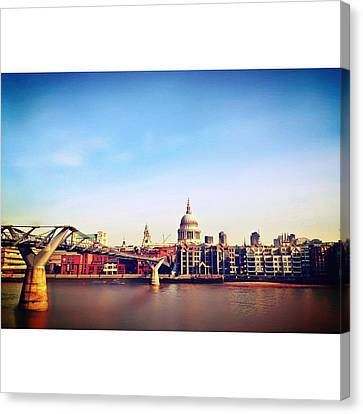 London Canvas Print by Maeve O Connell