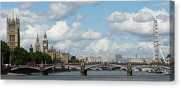 London Panorama Canvas Print by John Topman