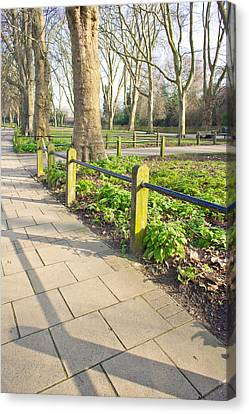London Park Canvas Print by Tom Gowanlock