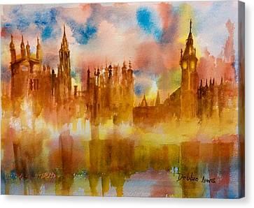 London Rising Canvas Print by Debbie Lewis