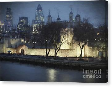 London Skyline Canvas Print by Julie Woodhouse