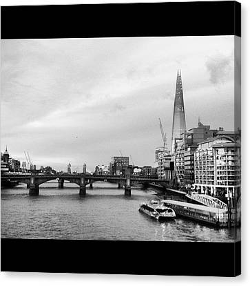 London Skyline Canvas Print by Maeve O Connell