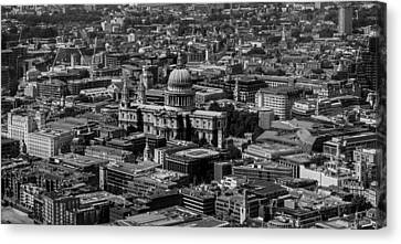 Centre Canvas Print - London Skyline by Martin Newman