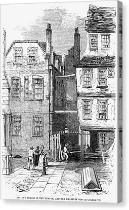London Temple Church, 1860 Canvas Print by Granger